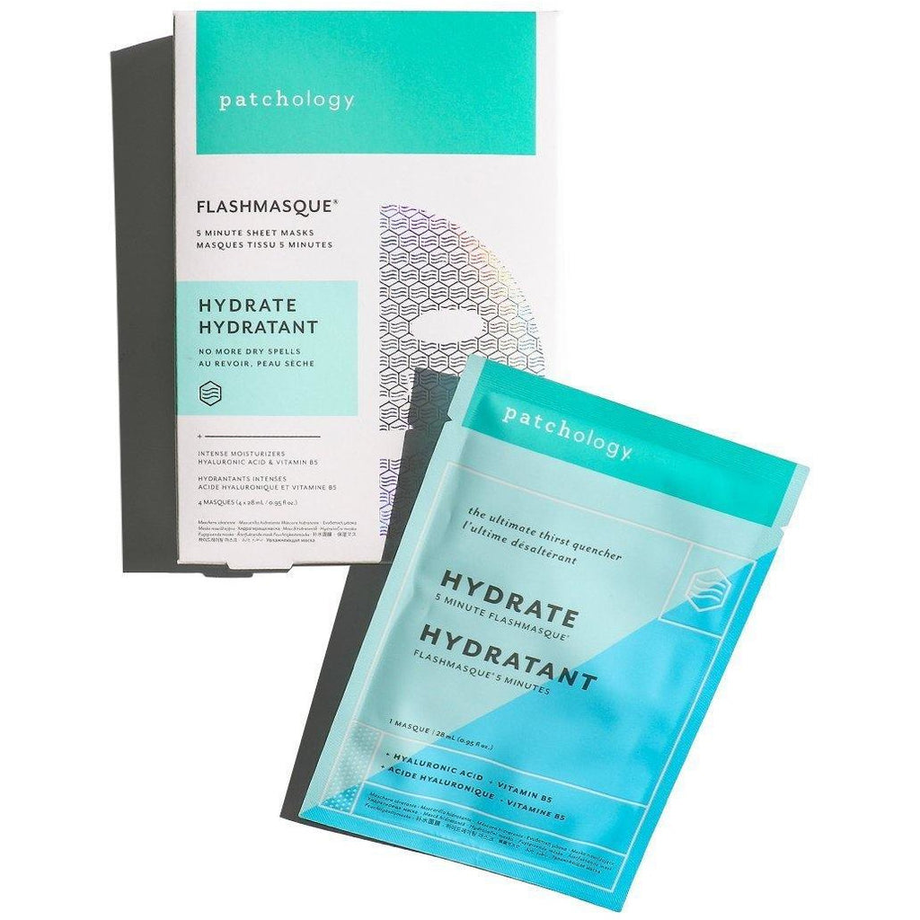 FlashMasque® Hydrate 5 Minute Sheet Mask - Body Clinic Skincare