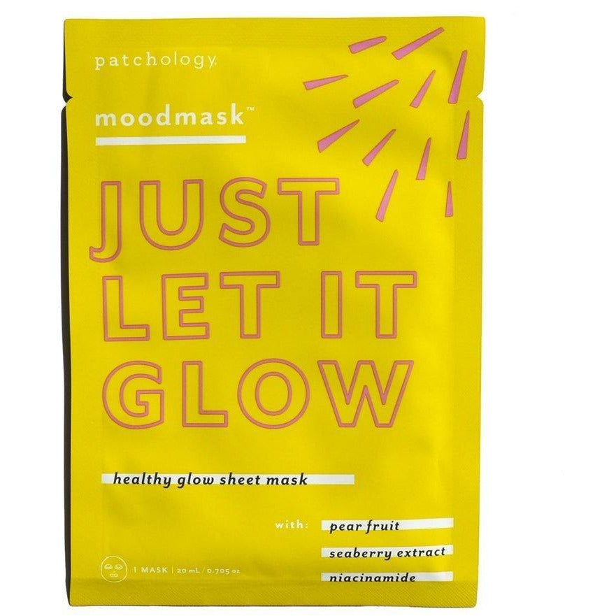 moodmask™ Just Let It Glow Sheet Mask - Body Clinic Skincare