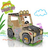 Color-In Safari Jeep