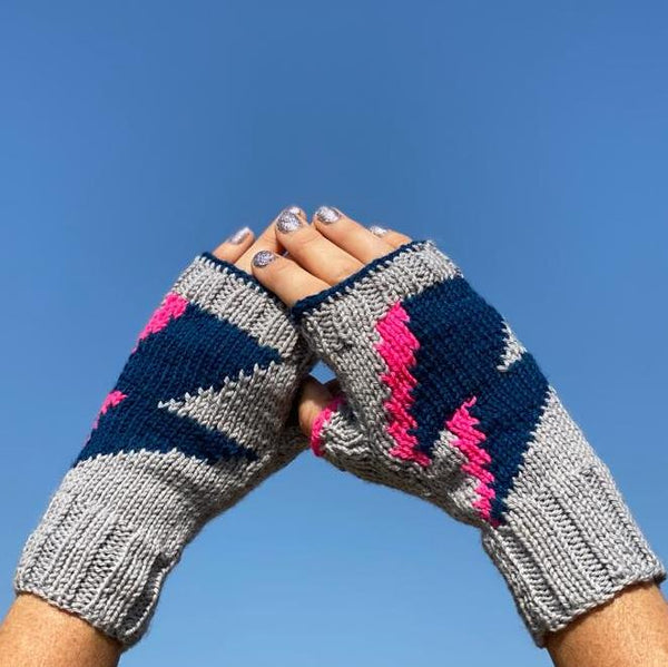 Volt Mitts Knitting Kit