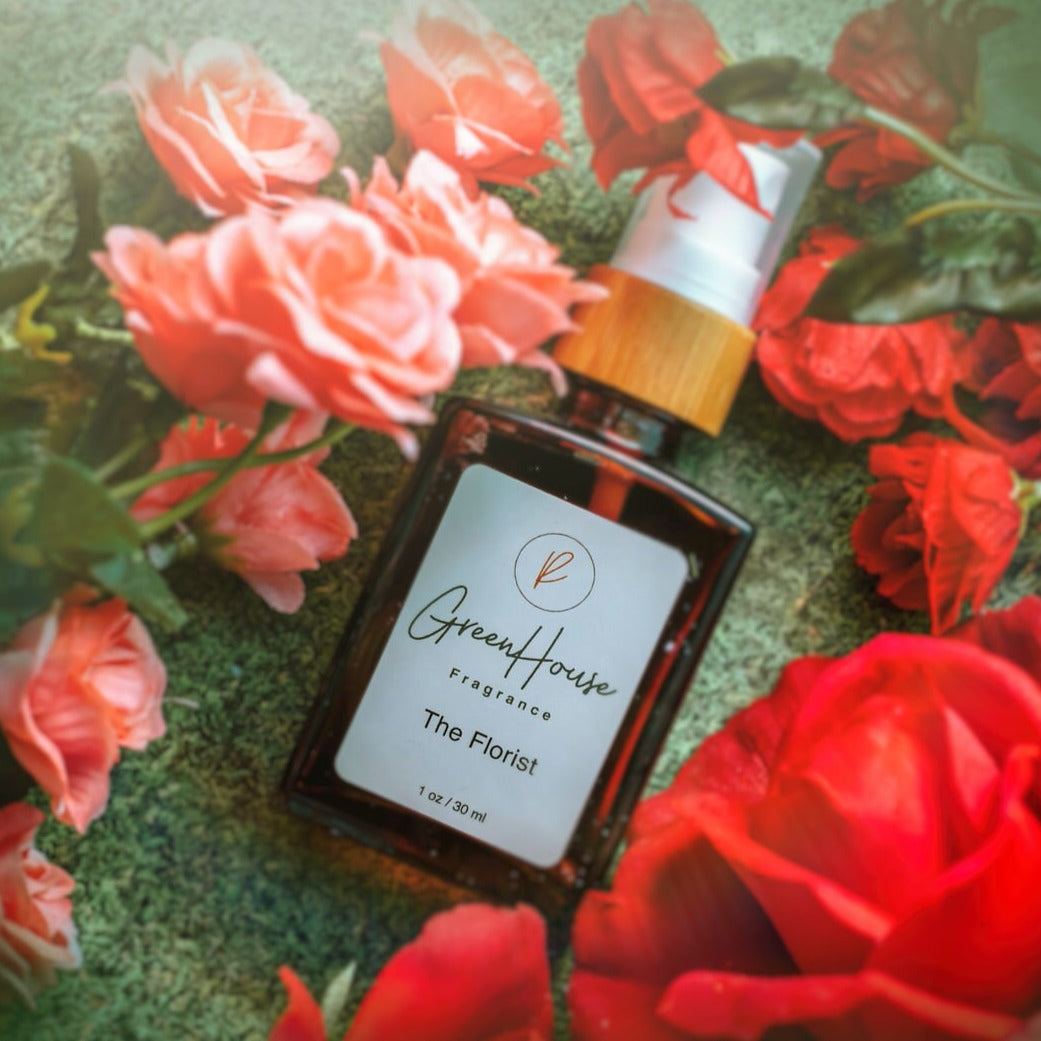 The Florist, Greenhouse Fragrance, Natural Organic fragrances