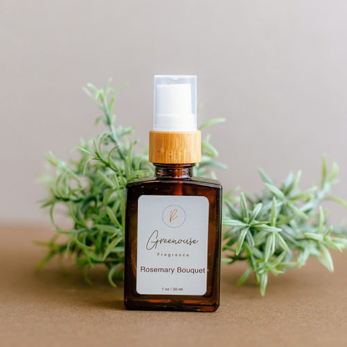Rosemary Bouquet, Greenhouse Fragrance, Natural Organic fragrances