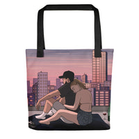 Safe place tote bag