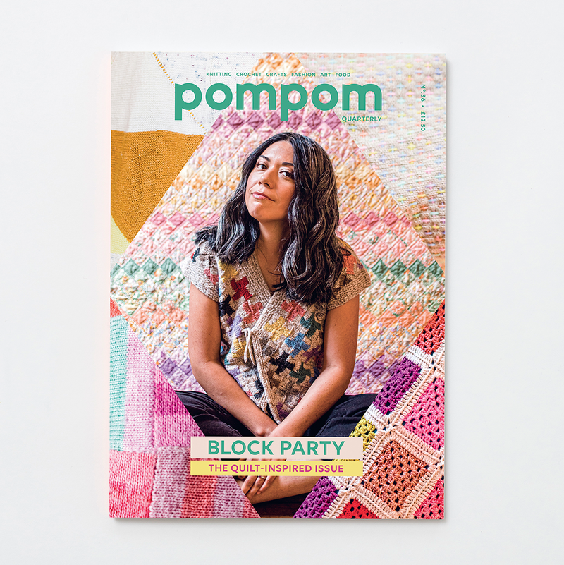 Pom Pom Quarterly - Block Party: The Quilt Inspired Issue - No. 36