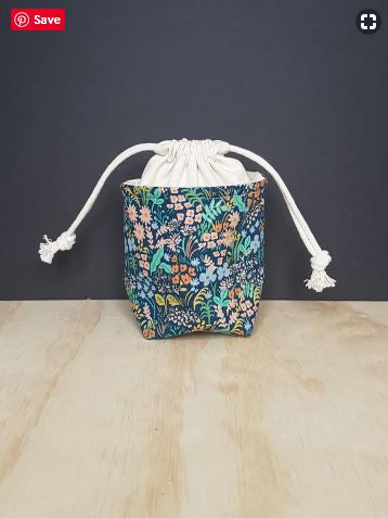 JHendry Designs Mini Drawstring Project Bag