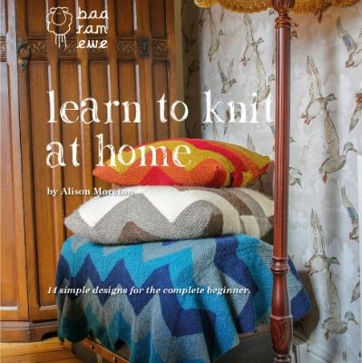 learn to knit at home cover