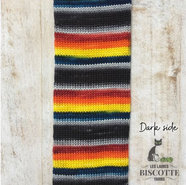 Biscotte Bis-Sock Self-Striping