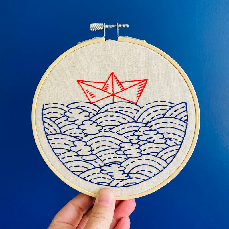 Hook, Line & Tinker Embroidery Kits