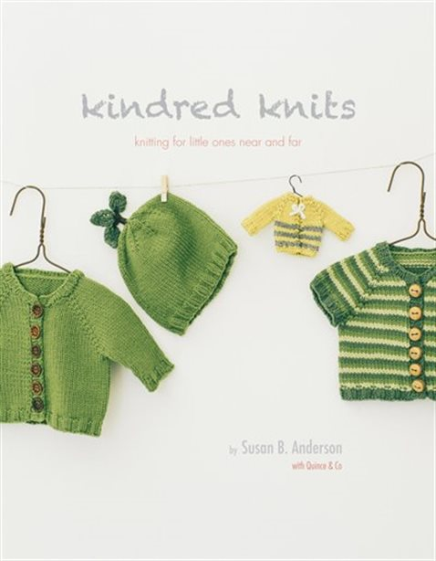 front cover of kindred knits