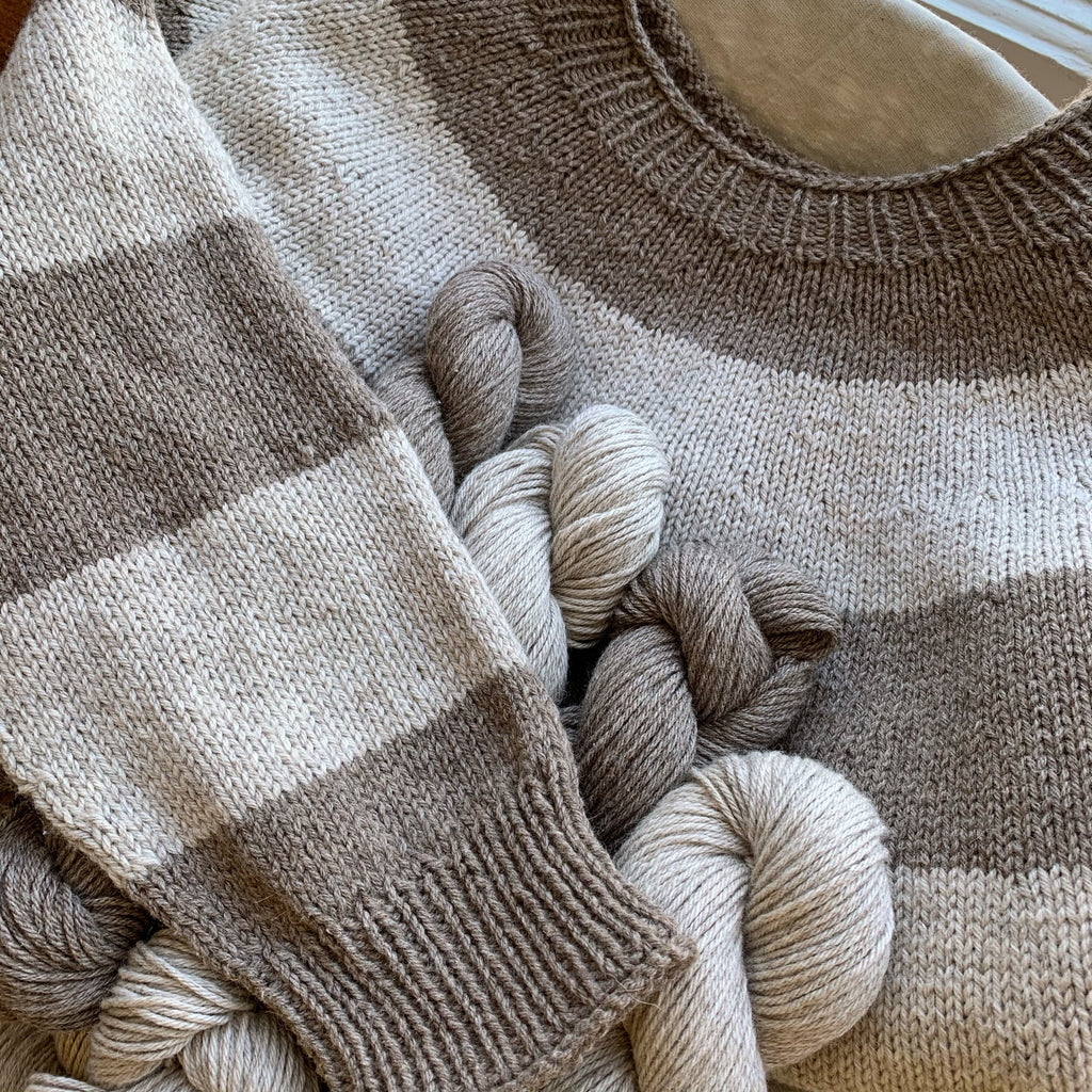 Super Simple Summer Sweater Kit - Jolyn's Version