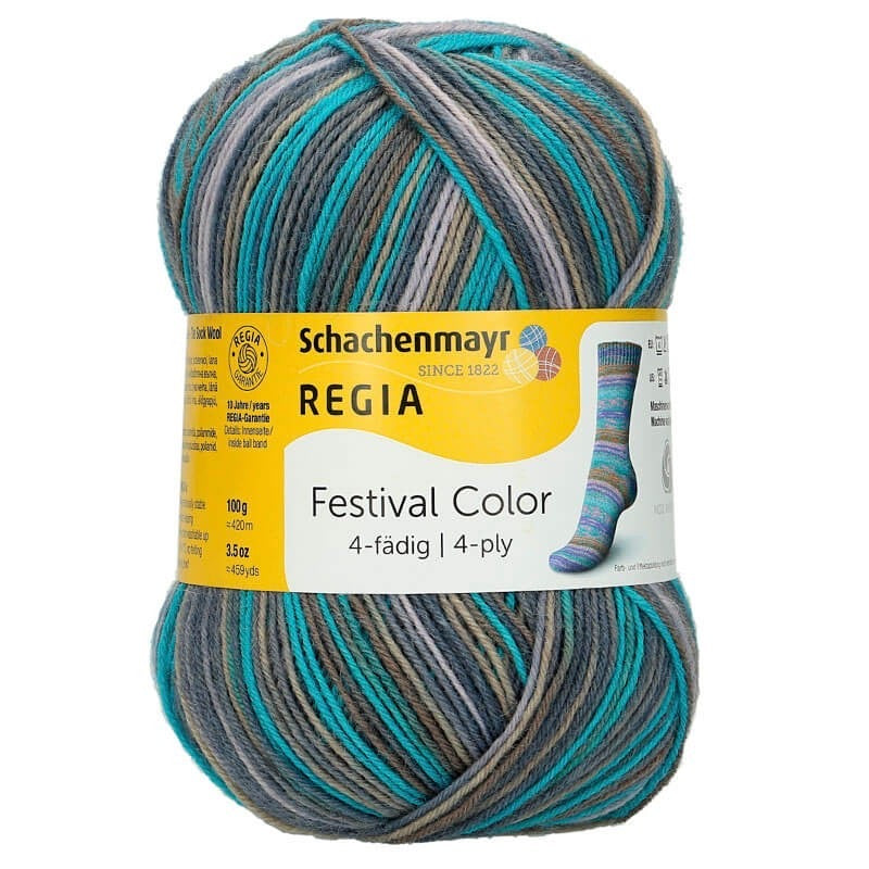 Regia 4Ply Festival Colour