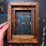 Load image into Gallery viewer, Custom Pine Float Frame- Honey Finish