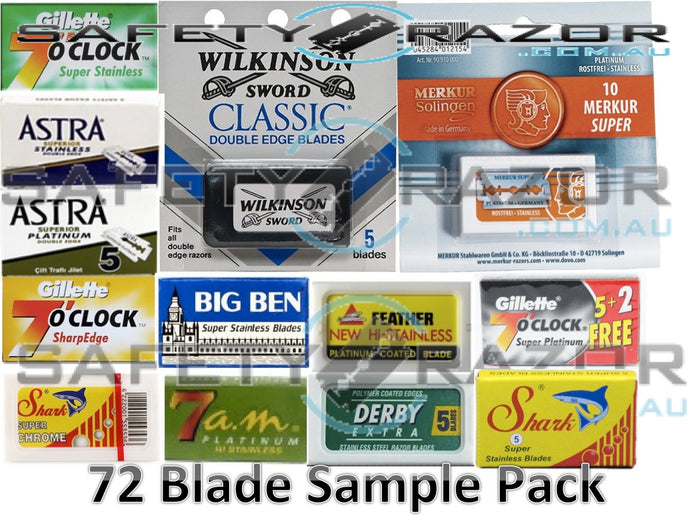 Double Edge Safety Razor Blades