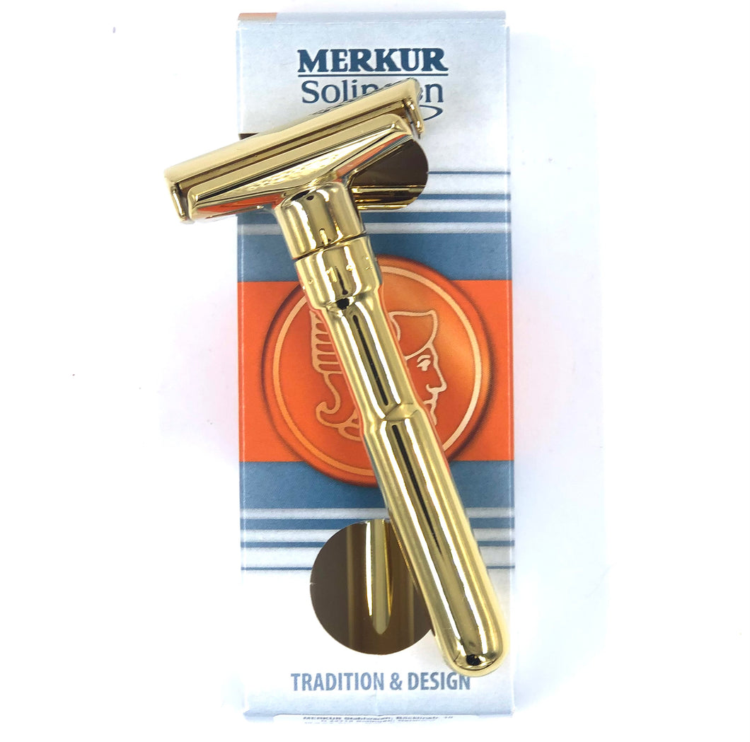 Merkur Futur Safety Razor, Gold