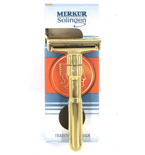 Load image into Gallery viewer, Merkur Futur Safety Razor, Gold