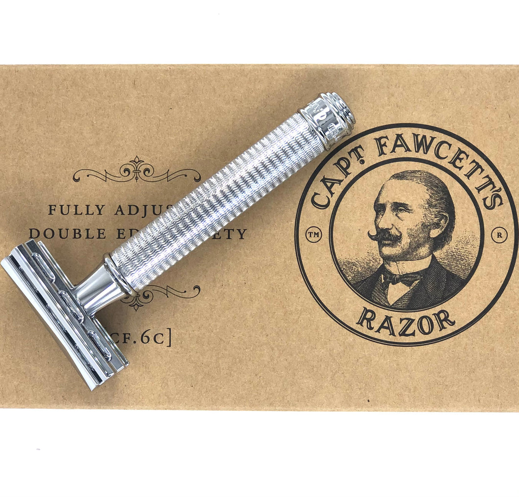 Captain Fawcett Fully Adjustable Double Edged Rockwell Razor