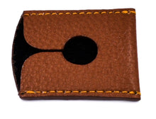 Load image into Gallery viewer, PARKER LEATHER DOUBLE EDGE SAFETY RAZOR TRAVEL COVER BROWN