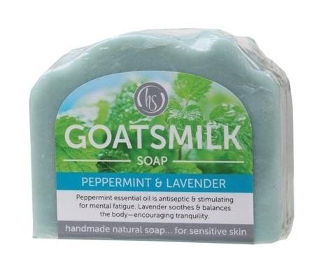 Harmony Soapworks Peppermint and Lavender - 140g