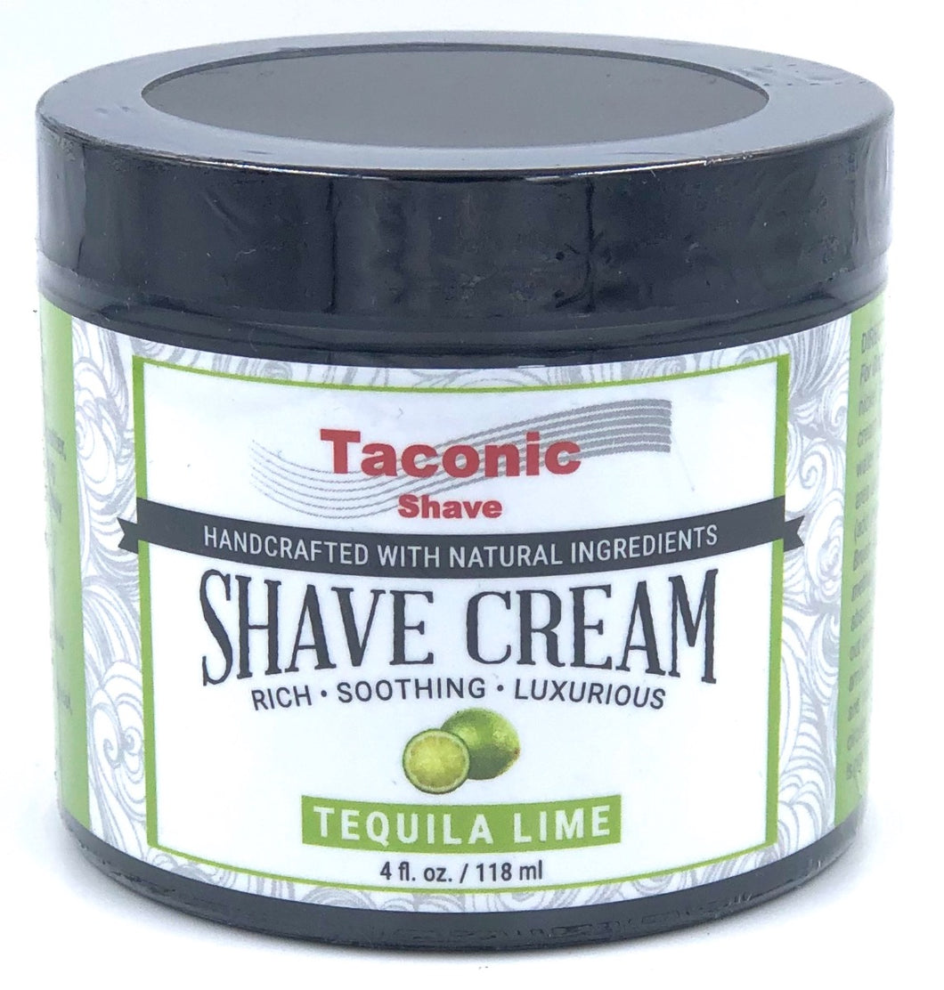 Taconic Shave Lime Shaving Cream