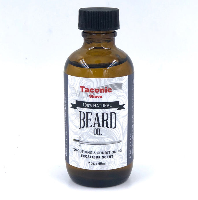 Taconic Shave Beard Oil, Excalibur Scent