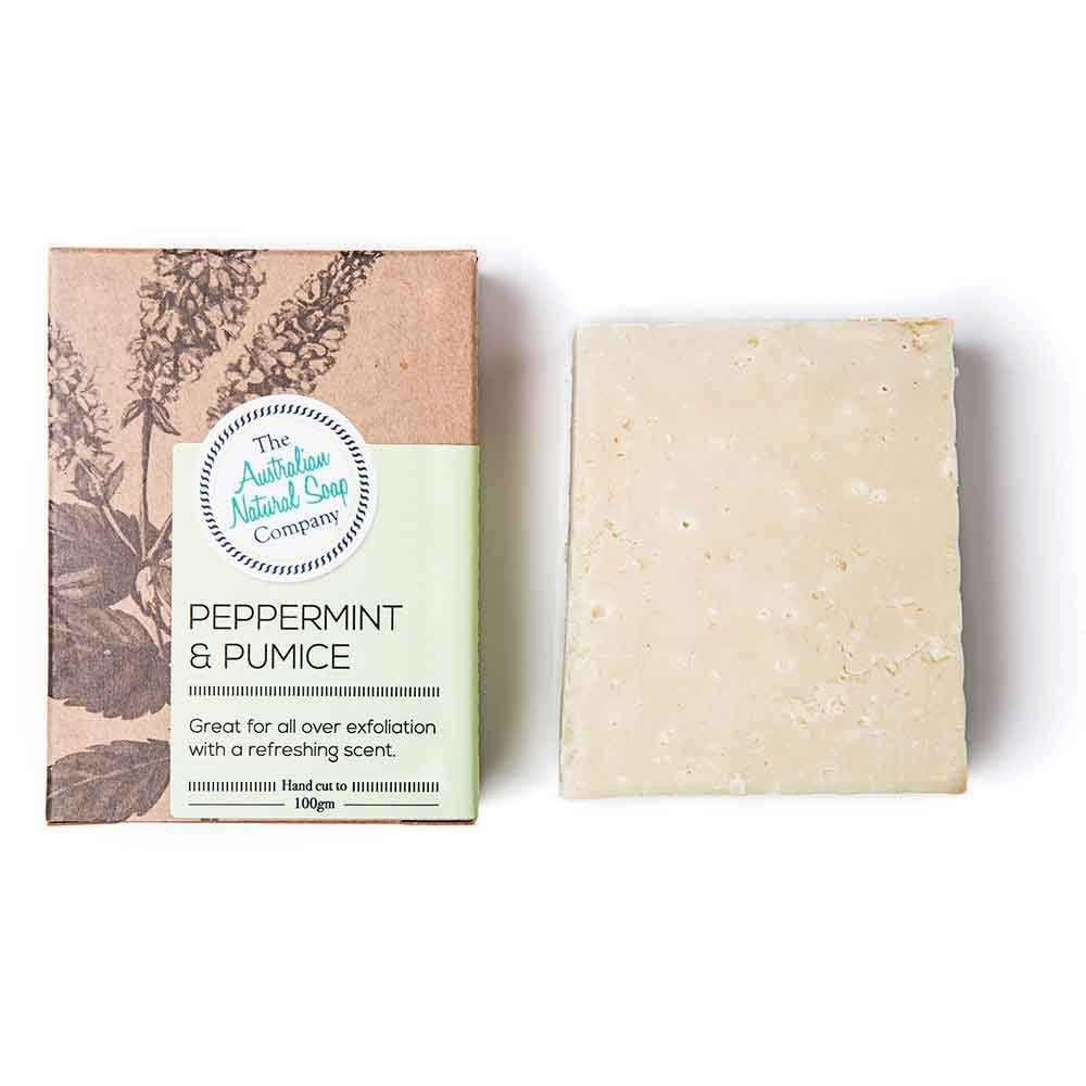 The ANSC Peppermint & Pumice Soap