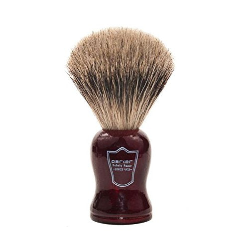 Parker Rosewood Badger Hair Shaving Brush