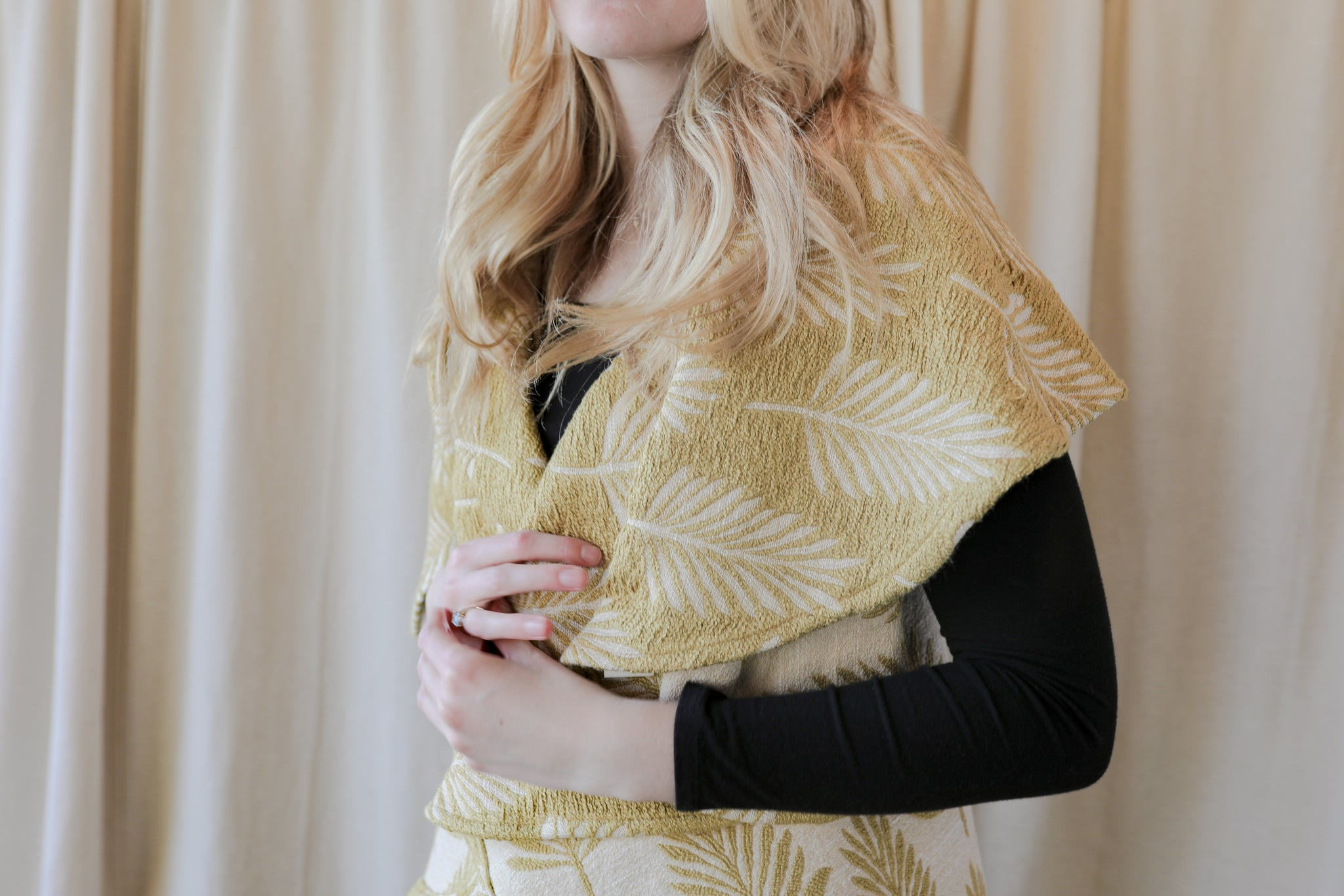 Palm leaf  Shawl