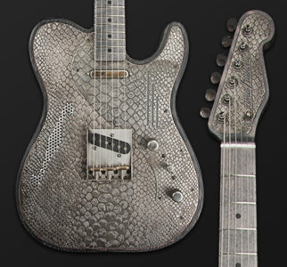 SteelCaster Rust O Matic Body with Gator Engraved Pickguard