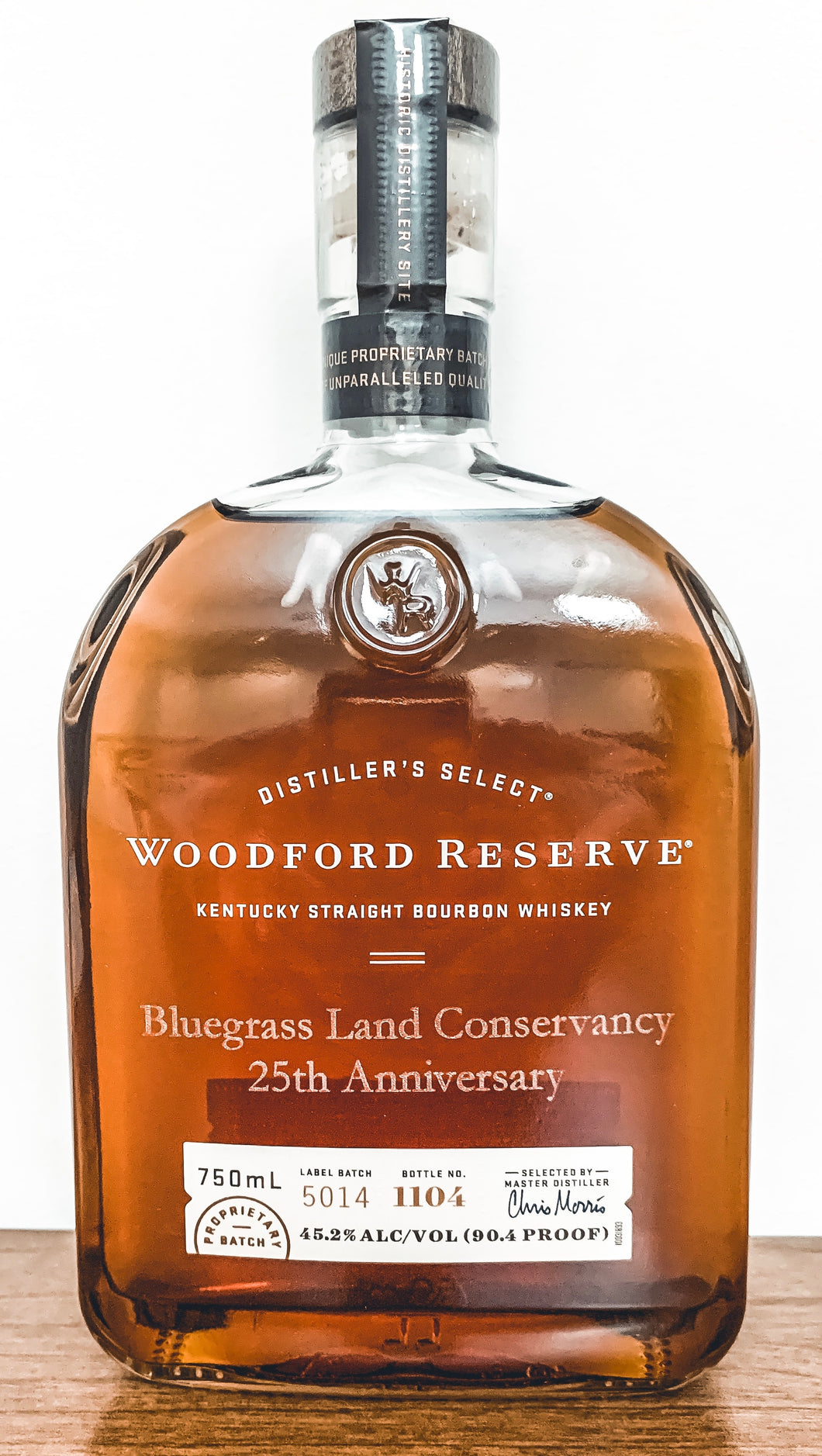 Woodford Reserve Bluegrass Land Conservancy 25th Anniversary Bottle