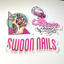 Load image into Gallery viewer, Swoon Stickers 3 Pack