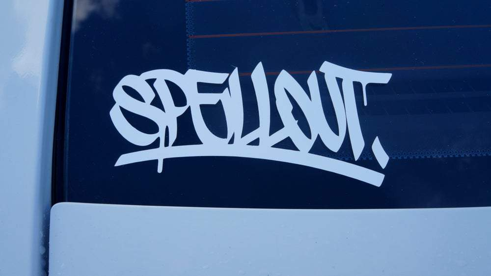 Spell Out Vinyl Decals