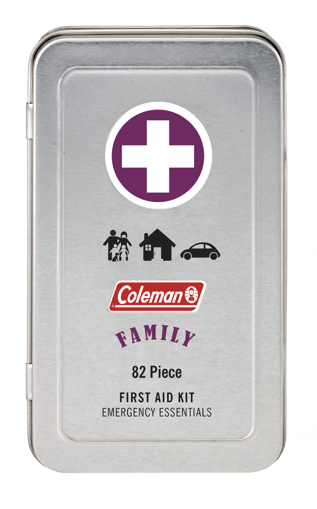 Coleman FAMILY First Aid Tin Kit