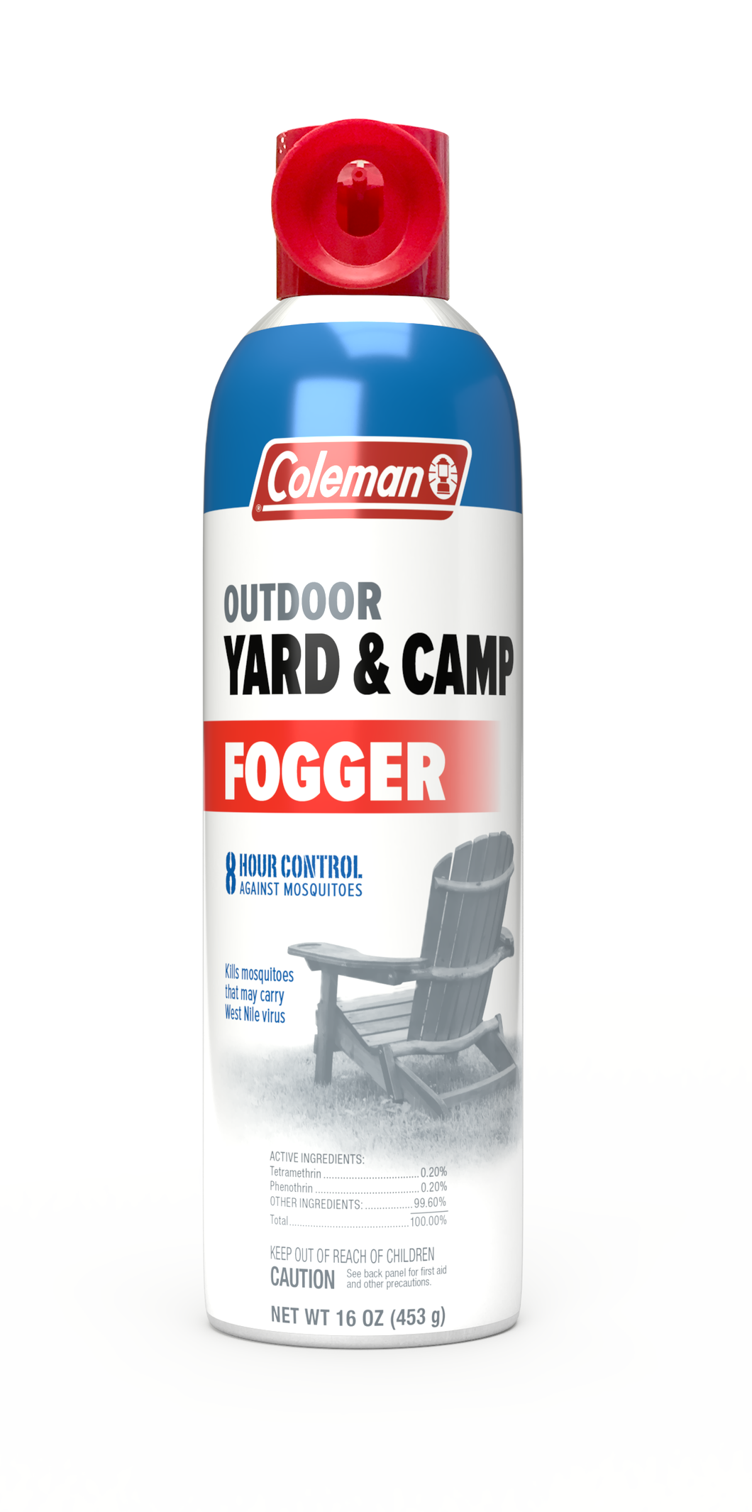 Coleman Outdoor Yard and Camp Tetramethrin Insect Repellent Fogger Aerosol, 16 Ounce