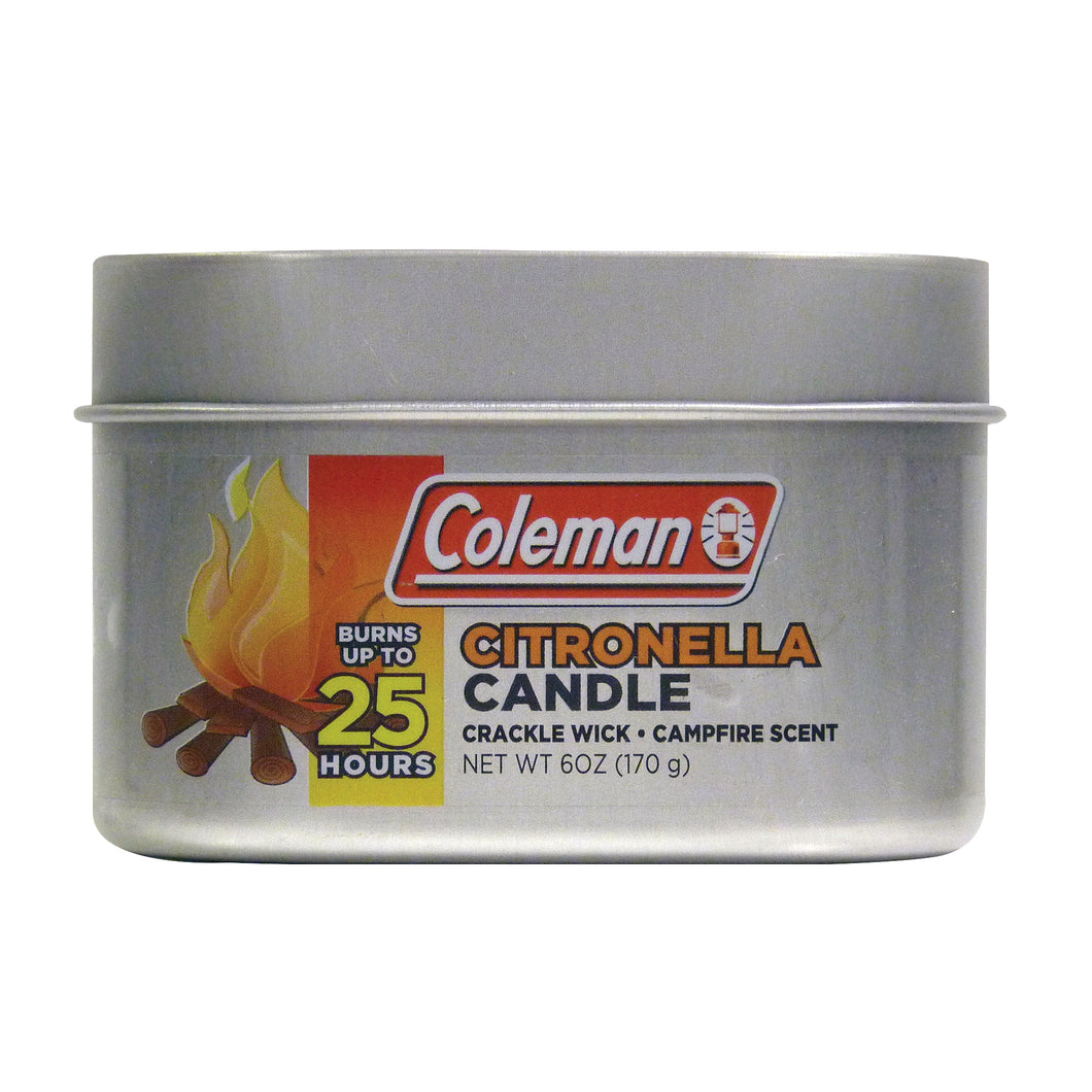 Coleman Scented Citronella Tin Candles - S'mores Scent