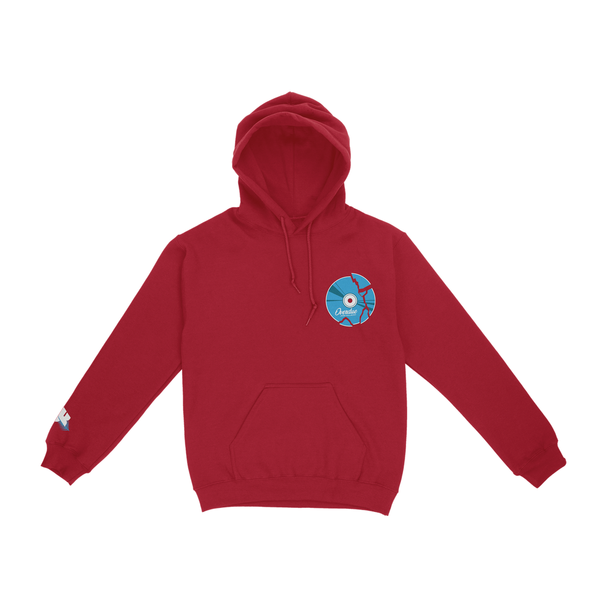 Red Josh Killacky hoodie - front