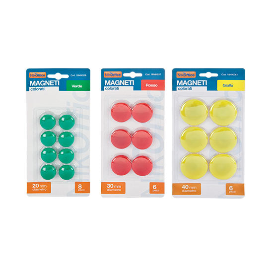MAGNETI COLORATIda 3.00mm blister da 12 pz