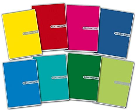 Maxi Quaderno Color Club conf. 10 pz. colori assortiti