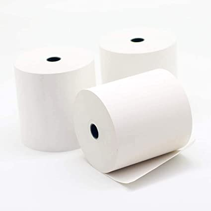 Rotolo Carta Termica mm 80 x 80 mt x 12h 10 PZ