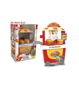 Carrello Grande Chef Fast Food 35 pz.