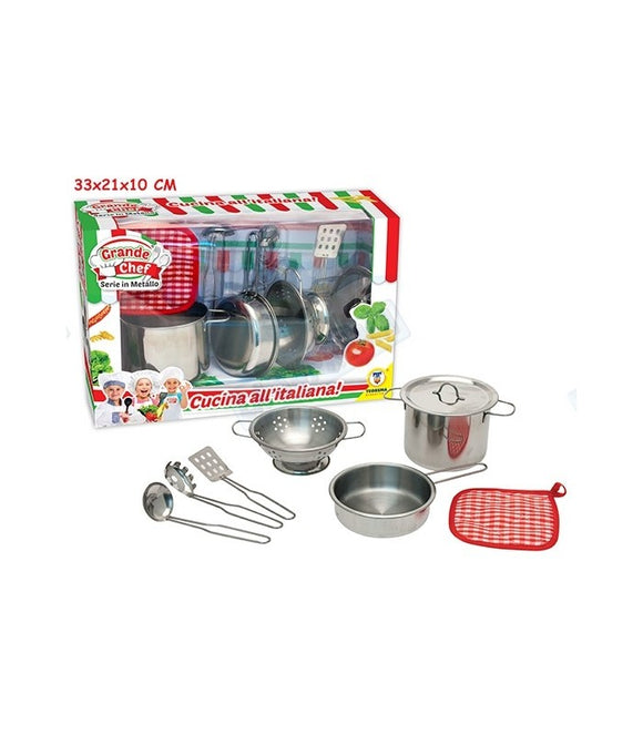 Set Pentole Grande Chef in Metallo