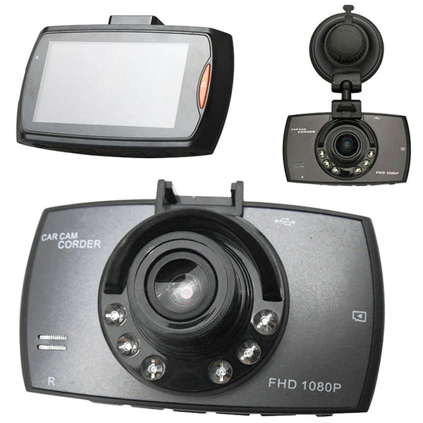 HD 2.2inch LCD 1080P Car DVR Vehicle Camera Video Recorder Night Vision Dash Cam PUO88