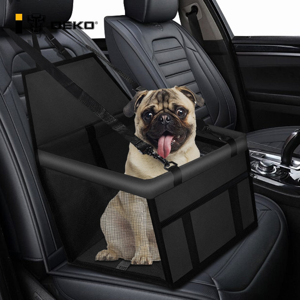 DEKO Folding Hammock Protector Dog Bed Car Front Seat Cover Pet Carriers Mesh Bags Caring Cat Basket Waterproof Pets Travel Mat