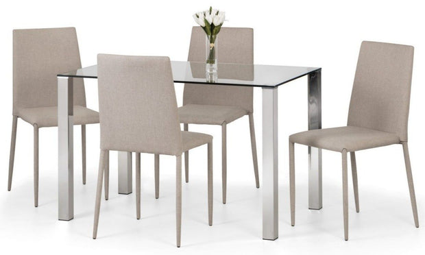Enzo & Jazz Sand Dining Set