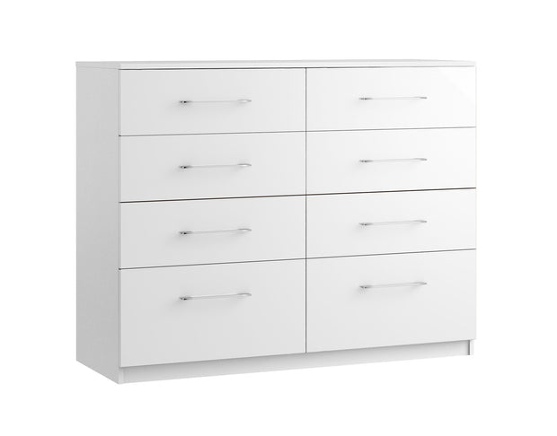 Maysons Roma 8 Drawer Twin Chest (Inc. two deep drawers)