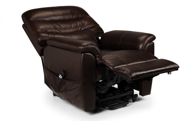 Pullman Leather Dual Motor Rise & Recline Chair