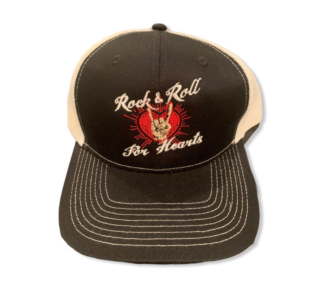 Rock and Roll for Hearts cap
