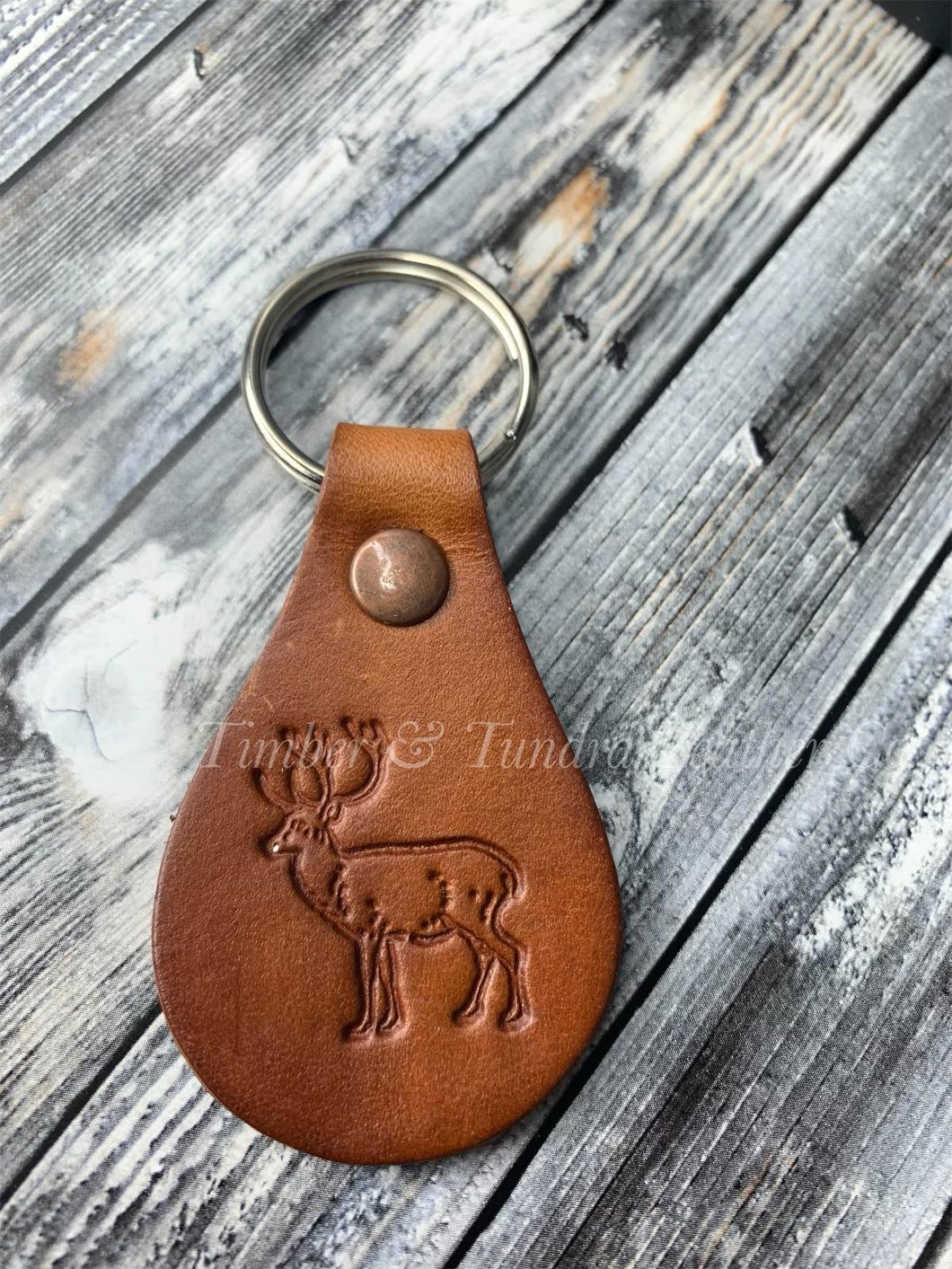 Rare and Vintage Design Caribou Keychain