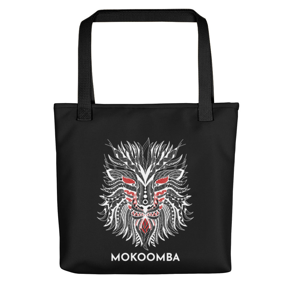 Lion Tote Bag | Black