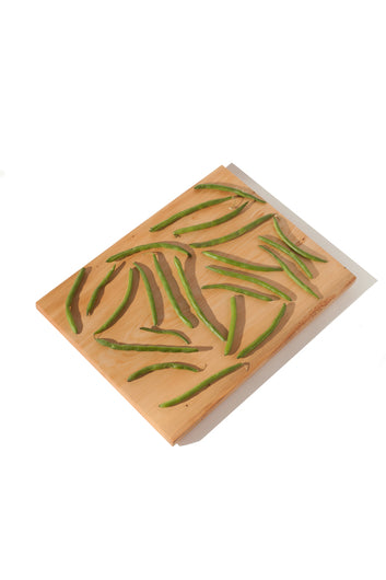 CELERY TOP PINE CUTTING BOARD - L