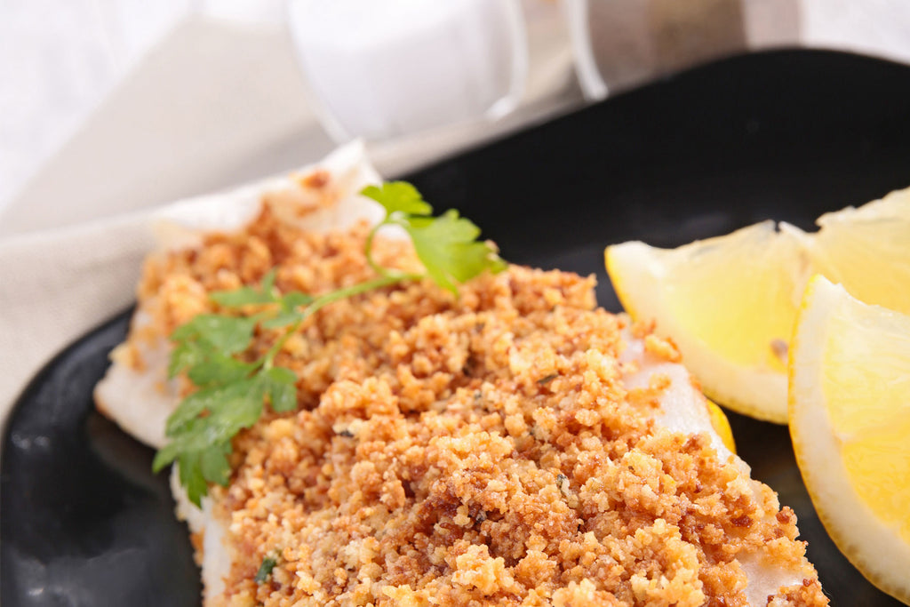FISH WITH HERB CRUMB